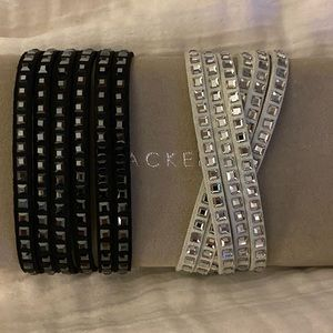 Authentic Swarovski Wrap Bracelets.